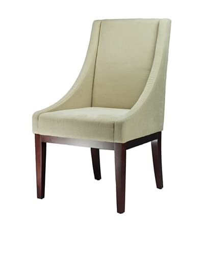 Safavieh Crème Fabric Sloping Armchair, Natural Cream