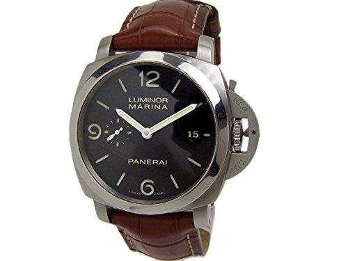 (パネライ)PANERAI SS/革ベルト ルミノールマリーナ 3デイズ PAM00312 メンズ オートマ [中古]
