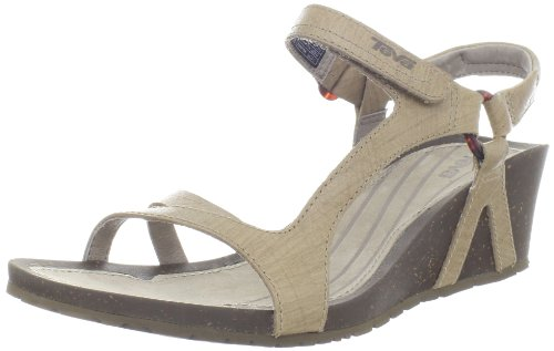 Teva Women's Cabrillo Universal Rialt Wedge Sandal,Pumice Stone,8 M US