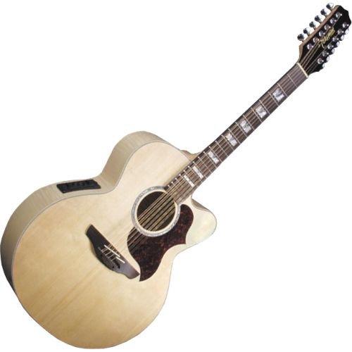low price takamine g series eg523sc 12 jumbo 12 string acoustic electric guitar natural. Black Bedroom Furniture Sets. Home Design Ideas