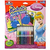 Elmer's Kids Arts and Crafts Paint By Number Princesses (Cinderella/Fairies)