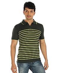 Silver Spring Black Super Combed Cotton T Shirt _ RVD013_XL