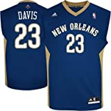 New Orleans Pelicans Anthony Davis Youth Jersey Navy