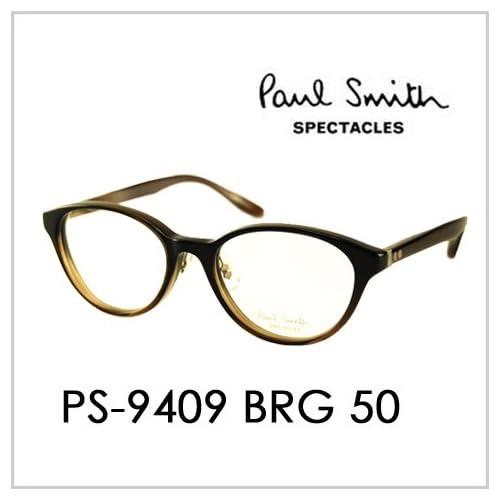 PAUL SMITH ポールスミス  メガネフレーム サングラス 伊達メガネ 眼鏡 PS-9409 BRG 50 PAUL SMITH専用ケース付 スペクタクルズ