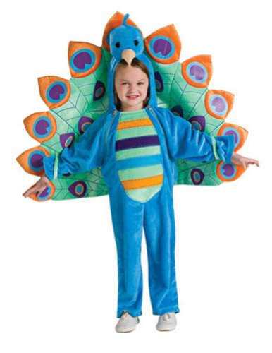 Baby-Toddler-Costume Peacock Toddler Costume Halloween Costume