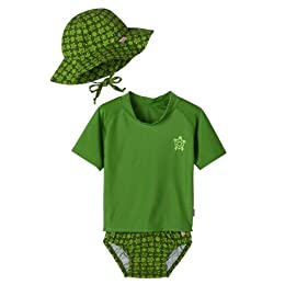 Product Image Infant Toddler Boys' i-play.® Turtle Swim Collection