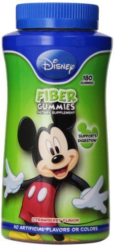 Disney Fiber Gummies, 180 Count