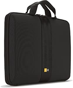 Case Logic QNS-113 13.3-Inch EVA Molded Laptop / Macbook Air / Pro Retina Display Sleeve (Black)