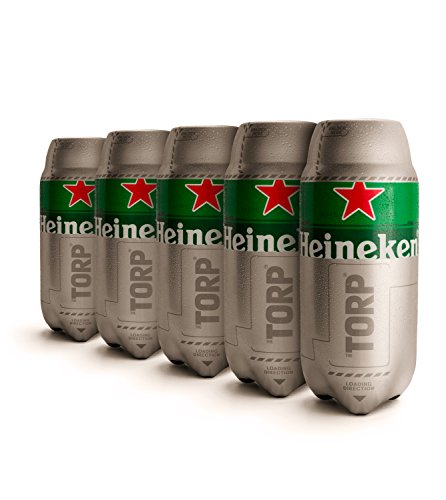 Heineken-TORP-Pack-de-5-Barril-de-cerveza-de-2L-de-capacidad-compatible-con-THESUB