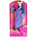 Barbie Dress Up Purple And Blue Gown With Fashion Accessories