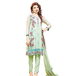 Pulp Mango Media's Latest arrival of EID Collection, Pakistani Designer Style, Top with Fine Georgette with Heavy Emboridery Work, Inner and Bottom Santoon and Dupatta Nazneen Chiffon Dress Material Available at Wholesale Prices. High End Ethnic Wear Collection.
