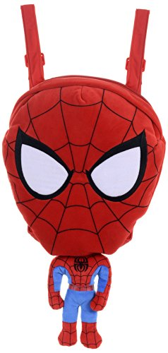 Spiderman - Mochila de peluche (Posh Paws International 22809)
