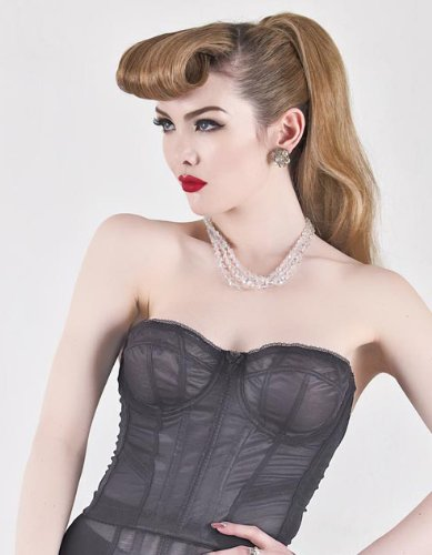 What Katie Did Cabaret Black Bustier L2033 L2033