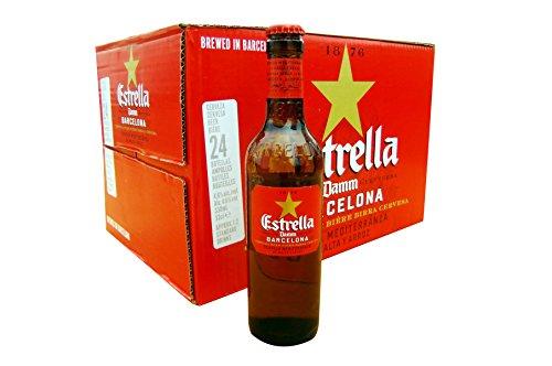 [スペインビール]エストレージャ ダム 330ml瓶×24本