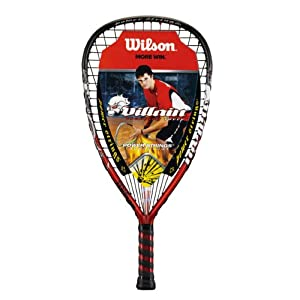 Buy Wilson Villan Racquetball Racquet (3 5 8-Inch Grip, Super Small) by Wilson