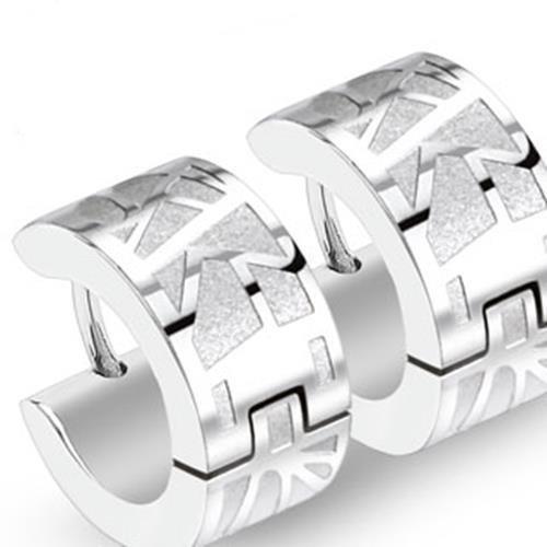 Coolbodyart Stainless Steel 1 Pair Earrings Geo Web Plastic