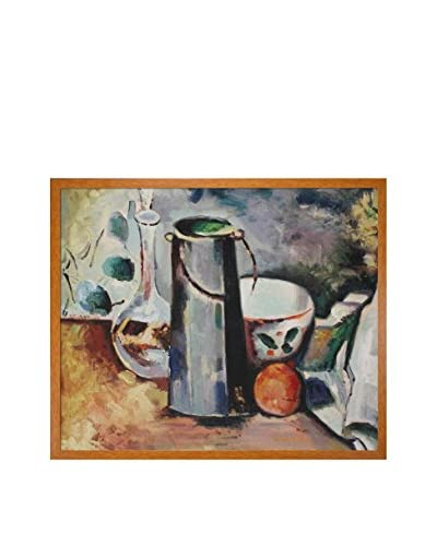 "Paul Cezanne ""Water Pitcher And Decanteur"" Framed Hand-Painted Oil Reproduction"