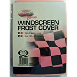 Car Windscreen anti Frost Cover Protector PINK Babes with 4 Suction Cups (185cm x 85cm Approx.)by Babes by ProDriver