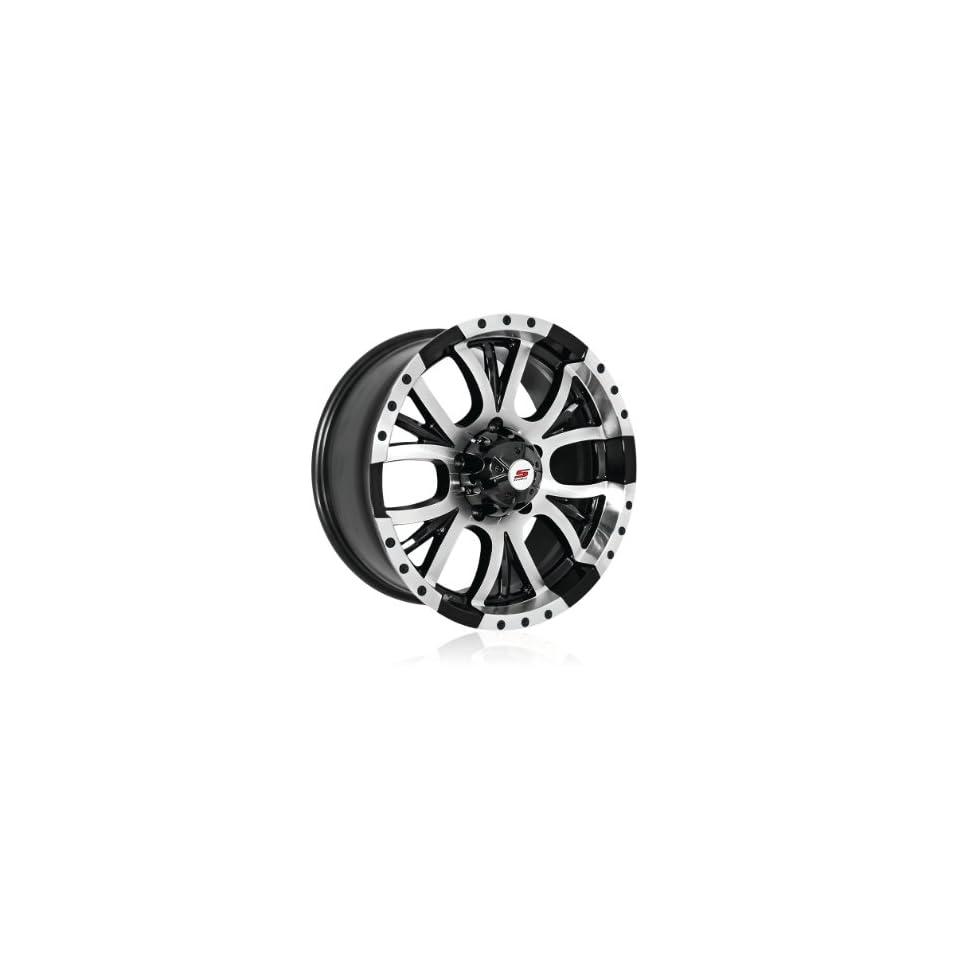 17x8 Sendel S13 (Black / Machined) Wheels/Rims 5x135 (S13 78075BM)