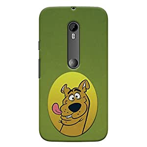ColourCrust Motorola Moto G3 Mobile Phone Back Cover With Scooby Doo - Durable Matte Finish Hard Plastic Slim Case