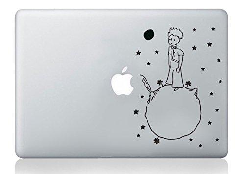 little prince petit prince sticker laptop macbook decal art apple decoration. Black Bedroom Furniture Sets. Home Design Ideas