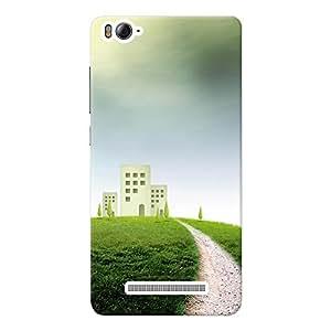 Mobile Back Cover For Xiaomi Mi 4i (Printed Designer Case)
