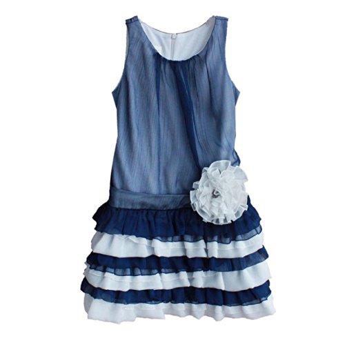 Isobella & Chloe Lagoon Dress. Navy Blue. Size 5