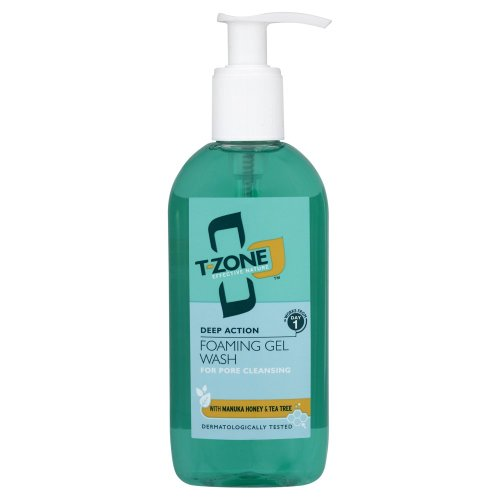 T-Zone Deep Action Foaming Gel Wash 200ml