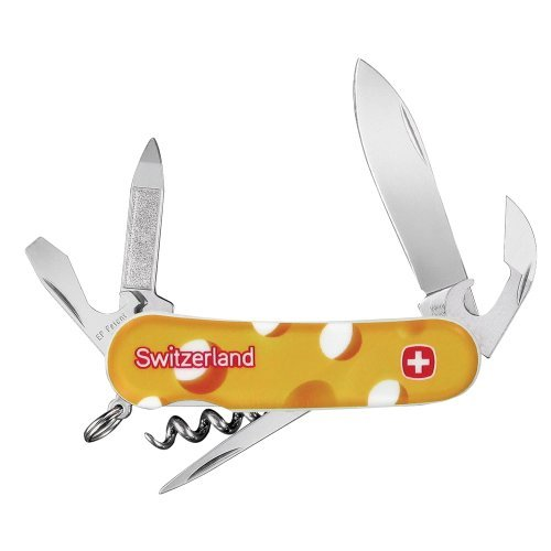 Swiss Army Swiss Cheese Evolution 10