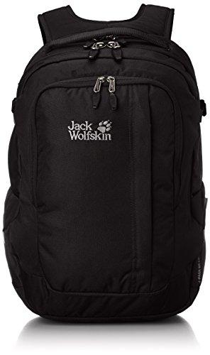Jack Wolfskin, Zaino J-Pack De Luxe, Nero (Black), Taglia unica