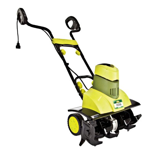 Big Save! Sun Joe TJ601E Tiller Joe 9-Amp Electric Garden Tiller/Cultivator