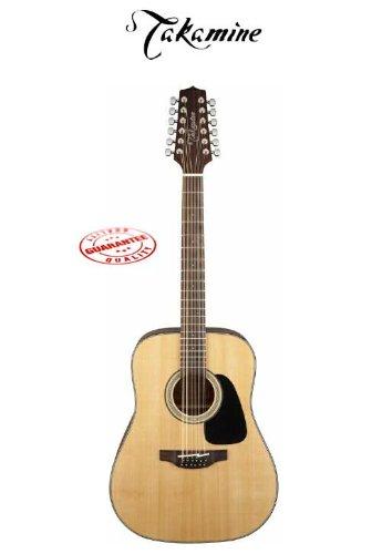 Takamine 12 String Dreadnought Acoustic Guitar Natural Gd30-12Nat