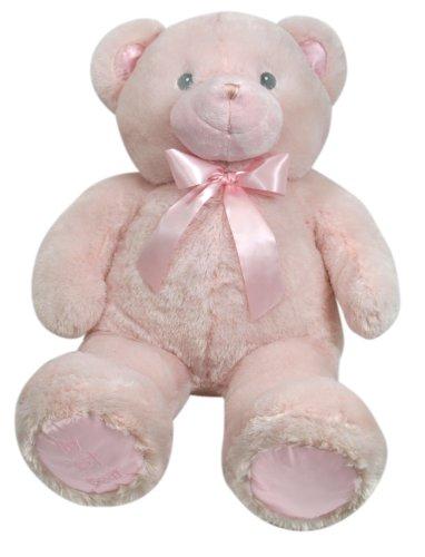 Stephan Baby Ultra Soft And Huggable Plush My First Teddy Bear, Pink