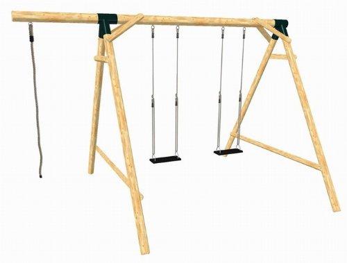 Imagen 2 de LoggyLand 9133 - BOUNCE Swing Set