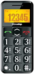 BC5i Big Button Sim Free Senior Telephone - Black