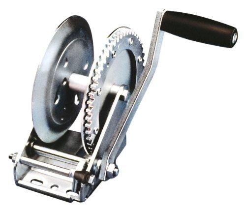Fulton T1602 0101 Single-Speed Trailer Winch - 1600 lb. Weight Capacity