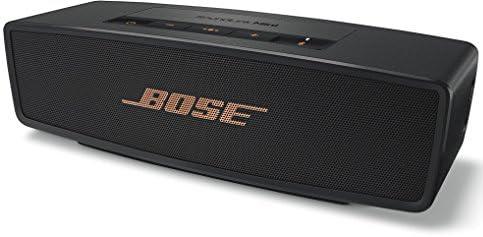 Bose SoundLink Mini Bluetooth speaker II : Bluetoothスピーカー ポータブル/ワイヤレス対応/通話可能 リミテッドエディション 世界数量限定 ブラック/カッパー SLink Mini II BLCP 【国内正規品】