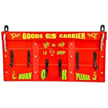 Happily Unmarried Goods Carrier Key Holder (22.86 Cm X 17.78 Cm, Red)