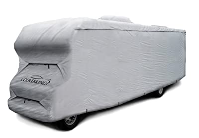 Coverking RVCC32P62 Universal Fit RV Cover Class C Length 29 ft. to 32 ft.-(Presidium, Grey)