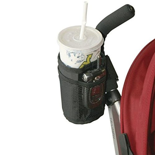 GoEa Baby Stroller Pram Pushchair Cup Holder Phone Holders Drinks Pocket Bag