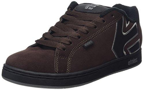 Etnies Men's Fader Skateboarding Shoe, Brown/Black/Grey, 10.5 M US