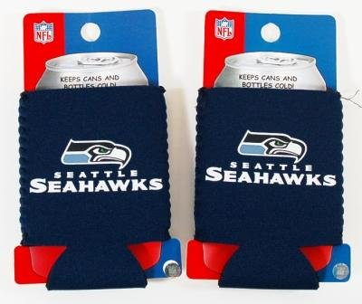 SET OF 2 SEATTLE SEAHAWKS NFL CAN KADDY KOOZIES at Amazon.com