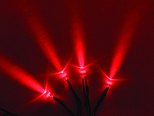 Vision X Hil-Slr Blue Red Led With 3 Foot Cord - Pack Of 4