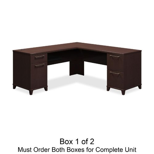 desk is in two boxes order both for complete desk design is stylish