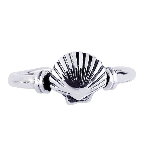 Sterling Silver Toe-Ring - JewelryWeb