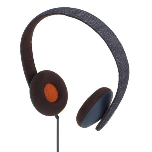 Incase Reflex On Ear Headphones - Blue Denim / Black Coffee - Ec30028