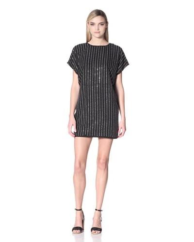 Susana Monaco Women's Brenda Jeweled Dress  - Black