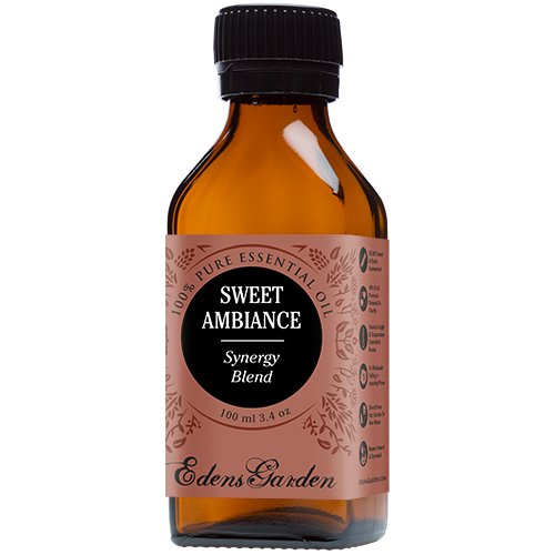 Sweet Ambiance Synergy Blend Essential Oil by Edens Garden (Lemon, Lime, Orange, Peru Balsam and Ylang Ylang)- 100 ml