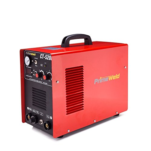 Read About Primeweld Ct520d 50 Amps Plasma Cutter, 200 Amps Tig Welder and 200 Amps Stick Welder Com...