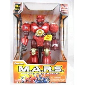 Cybotronix M.A.R.S. Motorized Attack Robo Squad